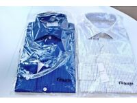 2 TM Lewin Shirts for Sale- 15 1/2 Collar, Fitted