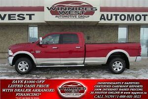 2010 Dodge Ram 2500 Laramie 4X4, Full Size Box, Loaded, Only 59K
