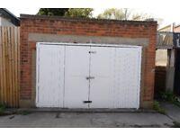 Double Garage/Lock up/Storage to rent