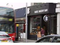 Experienced Barista Needed for Trendy Bagel Bar, Fulham Road