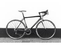 Trek madone 2.1 racing bike (new parts) 56 cm carbon fork