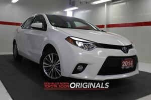 2014 Toyota Corolla LE Heated Lthr Nav Sunroof BTooth BU Camera
