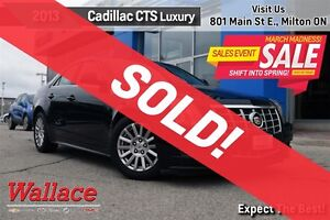 2013 Cadillac CTS LUXURY/ACCIDENT-FREE/HTD LTHR STS/ACDNT-FREE/R