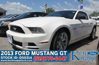 2013 Ford Mustang GT   V8   RWD   Leather   Manual
