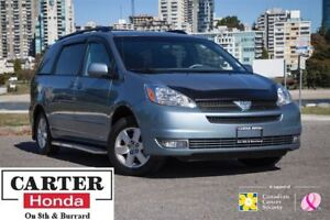 2005 Toyota Sienna LE 7 SEATS + LOW KMS + NO ACCIDENTS + LEATHER