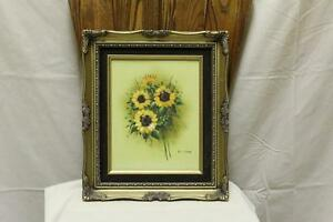 Orignal Oil Painting on canvas- Sunflowers