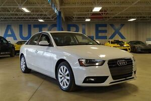 2014 Audi A4 2.0 Komfort, AWD, Automatic, Bluetooth