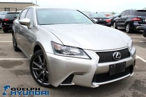 2015 Lexus GS 350 LEATHER,NAV,SUNROOF,BACKUP CAM & MORE!