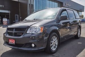 2012 Dodge Grand Caravan LEATHER / NEW TIRES / NEW FRONT AND REA