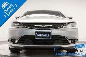 2015 Chrysler 200 S CUIR, PADDLE SHIFT, BANCS CHAUFF.