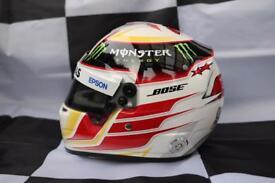 Lewis Hamilton 2015 1:2 scale helmet Mercedes AMG F1
