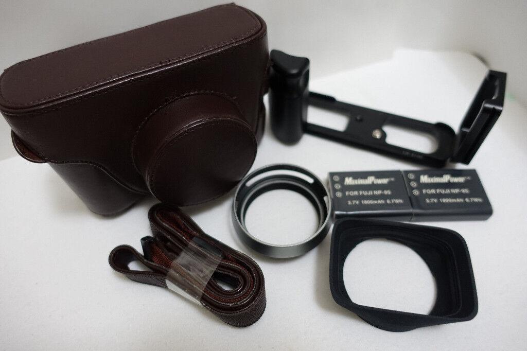 Fujifilm accesories bundle for Fuji X100 / X100S