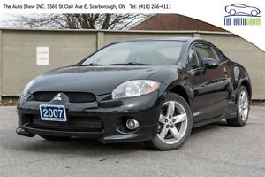 2007 Mitsubishi Eclipse 1 OWNER | LOW KM | SUPER CLEAN