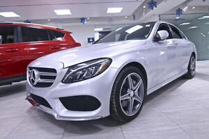 2015 Mercedes-Benz C-Class C300 4MATIC, AMG SPORT, ONE OWNER, NO
