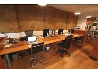 Fantastic office space just yards from the Thames and near Over and Underground stations