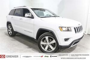 2016 Jeep Grand Cherokee Limited*Cuir, Toit, Nav*