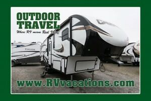 2018 FOREST RIVER CRUSADER 26RE FIFTH WHEEL TRAILER