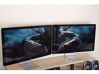 Apple Cinema Display(s) Monitor LED (*PAIRS AVAILABLE) Thunderbolt MacBooks MacPros MAGSAFE ISIGHT