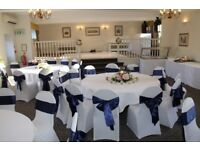 70 Navy Chair Sashes