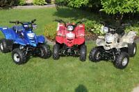 NEW 110cc Mini GAS ATV's. Awesome FUN, Remote Start/Stop NO TAX