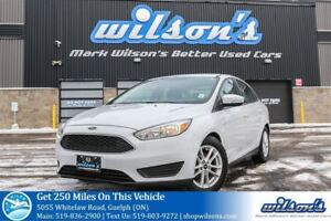 2015 Ford Focus SE HEATED STEERING! HEATED SEATS! REAR CAMERA! S