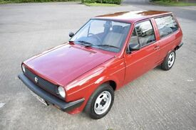 VW POLO BREADVAN MK1 1.0 C 3DR HATCHBACK RED 1985
