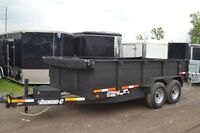 2015 Diamond C 7t 14ft Dump Trailer 21WD