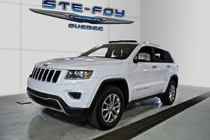 2014 Jeep Grand Cherokee Limited ** Toit ouvrant * Sièges chauff