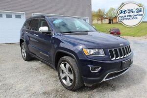 2016 Jeep Grand Cherokee Limited! LEATHER! NAV! SUNROOF! LOW KM!
