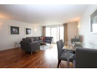 STUNNING 2 BED 2 BATH IN NEW PROVIDENCE WHARF WITH SECURE PARKING, RIVER VIEWS, 24HR PORTER