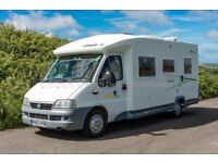 Chausson Allegro 67, 2005, 1 Owner, 41000 Miles, 4 Berth, Low Profile Motorhome, Loaded with Extras