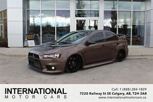 2015 Mitsubishi LANCER EVOLUTION EVO GSR! MODIFIED! DUMPED ON AI