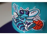 NBA CHARLOTTE HORNETS SNAPBACK HAT MITCHELL & NESS