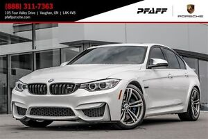 2016 BMW M3 Sedan 1 Owner | Full 3M