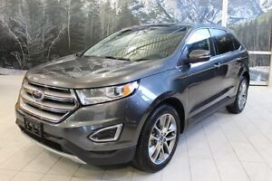 2016 Ford Edge TITANIUM 4X4 *CUIR/TOIT/NAV/CAMERA RECIL*
