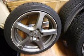 Honda Alloys for sale Pentas + tyres