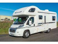 Bessacarr E495, 2013, 6 Berth, Fiat 2.3, 6 Belted seats, Rear lounge, 12000 Miles, Satellite TV.