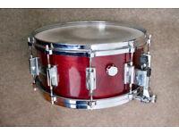 """Vintage Pearl 14 x 6.5"""" snare drum, Price Drop!"""