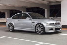 BMW E46 M3 Coupe 3.2L SMG II S54 343bhp 2002 RHD HISTORY Imola Red Interior VGC