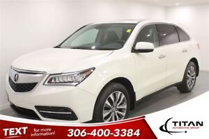 2015 Acura MDX Tech|SH-AWD|Nav|Htd Leather|Bluetooth