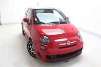 2013 Fiat 500 Sport Turbo*TOIT PANO*CUIR ROUGE*MECANIQUE ABARTH