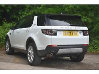 Land Rover Discovery Sport TD4 HSE (white) 2017-03-30