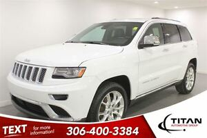 2014 Jeep Grand Cherokee Summit Back-up Cam Heated Leather