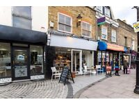 cafe/coffee bar for rent in a concept shop east london