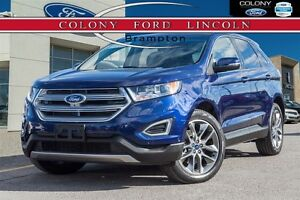 2016 Ford Edge FORD COMPANY DEMO, 0% LEASE OR FINANCE!
