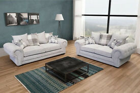 LUXURY VERONA SOFAS AVAILABLE IN 3 COLOURS AS A 3+2 SEAT SET OR LARGE CORNER SUITE