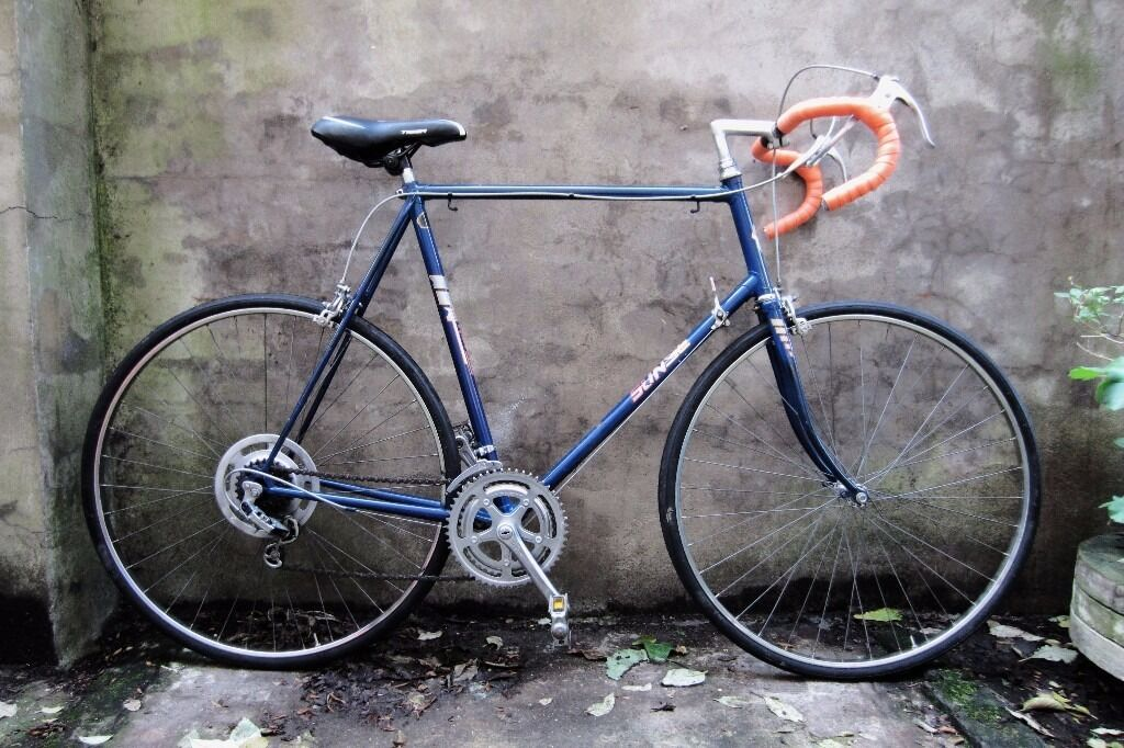 SUNSOLO, 25 inch XXL size, vintage racer racing road mens bike, 12 speed