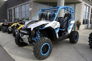 2016 Can-Am Maverick™ X® ds Turbo 1000R - Hyper Silver & Blue