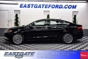 2017 Ford Fusion SE AWD Navigation Moonroof Leather
