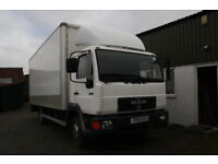MAN 7.5T LORRY - 20FT BOX - TOWBAR - UNRESTRICTED